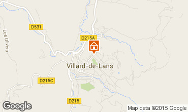 Carte Villard de Lans - Corrençon en Vercors Appartement 32977