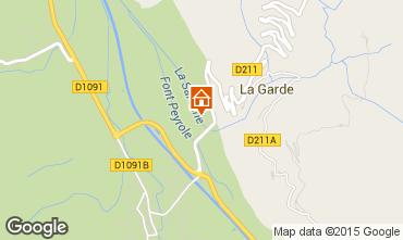 Carte Alpe d'Huez Studio 58962
