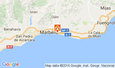 Carte Marbella Appartement 100764