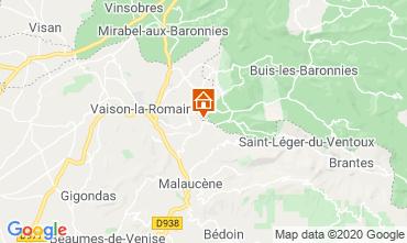 Carte Vaison la Romaine Villa 111380