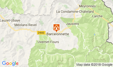 Carte Barcelonnette Appartement 113506