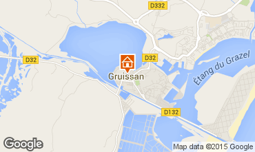 Carte Gruissan Studio 58967
