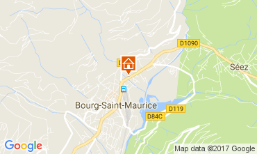 Carte Bourg saint Maurice Appartement 112634