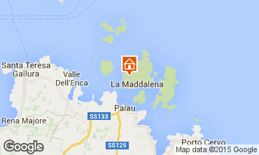 Carte La Maddalena Villa 37144