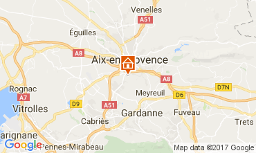 Carte Aix en Provence Appartement 112710