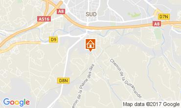 Carte Aix en Provence Appartement 112710