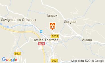 Carte Ax Les Thermes Appartement 113013