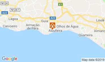 Carte Albufeira Villa 120050