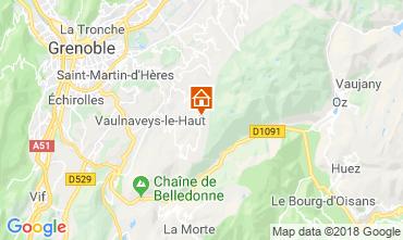 Carte Chamrousse Appartement 116984