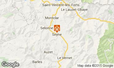 Carte Seyne les Alpes Maison 568