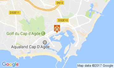 Carte Cap d'Agde Studio 108423
