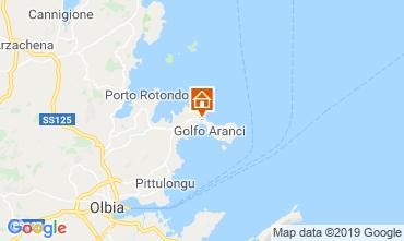 Carte Golfo Aranci Villa 61414