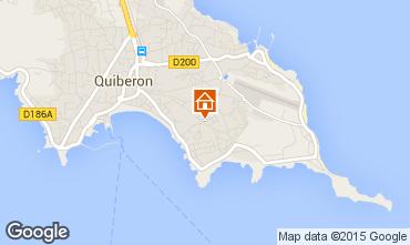 Carte Quiberon Appartement 74806