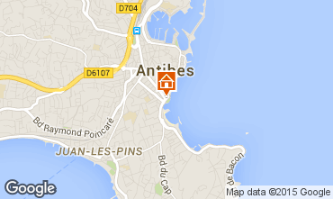 Carte Antibes Studio 98215
