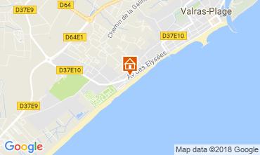 Carte Valras-Plage Appartement 83377