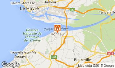 Carte Honfleur Appartement 7650