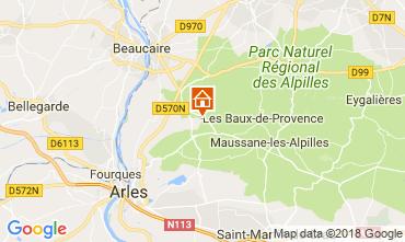 Carte Arles Gite 113951