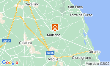 Carte Martano Appartement 105819