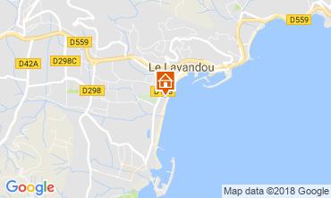 Carte Le Lavandou Appartement 113646