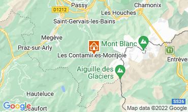 Carte Les Contamines Montjoie Chalet 32551
