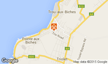Carte Trou-aux-biches Appartement 83923