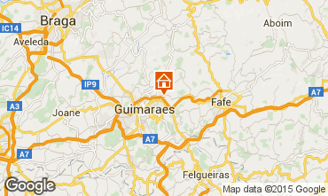 Carte Guimar�es Gite 68039