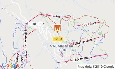 Carte Valmeinier Appartement 118538