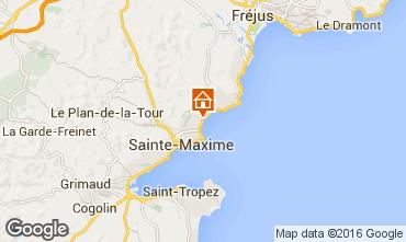 Carte Sainte Maxime Villa 70153