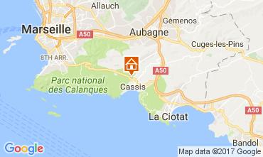 Carte Cassis Villa 109451
