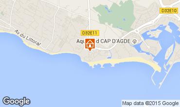 Carte Cap d'Agde Appartement 83338