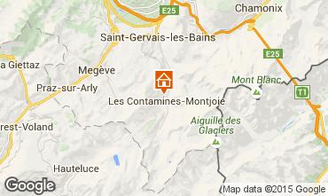 Carte Les Contamines Montjoie Chalet 50322