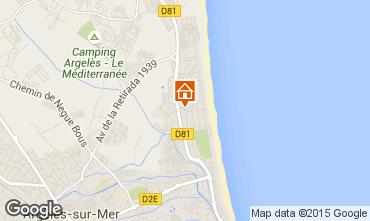 Carte Argeles sur Mer Appartement 69650