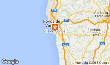 Carte Vila do Conde Appartement 87313