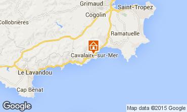 Carte Cavalaire-sur-Mer Appartement 93859