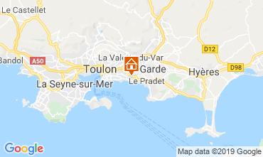 Carte Toulon Studio 118866