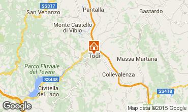 Carte Todi Villa 97129