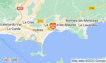 Carte Hyères Appartement 102440
