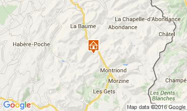 Carte Saint Jean d'Aulps- La Grande Terche Appartement 48428