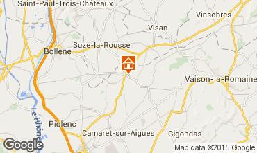 Carte Sainte-Cécile-les-Vignes Gite 101257
