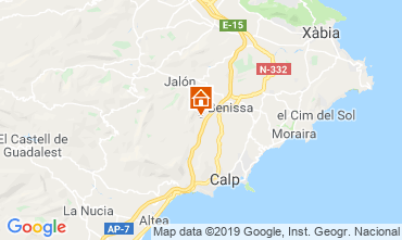 Carte Benissa Villa 116425