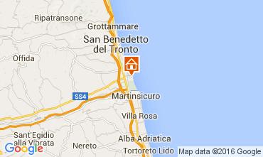 Carte San Benedetto del Tronto Appartement 79034