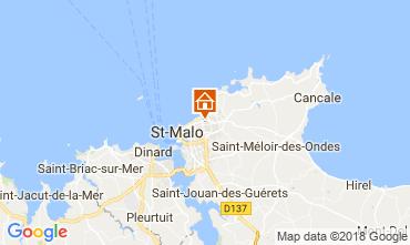 Carte Saint Malo Maison 111622