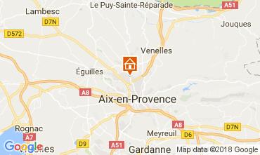 Carte Aix en Provence Studio 113137