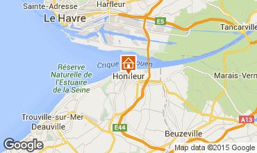 Carte Honfleur Appartement 98058