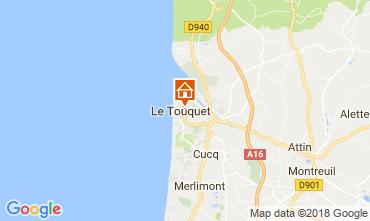 Carte Le Touquet Appartement 113907