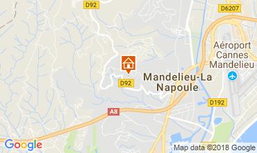 Carte Mandelieu la Napoule Villa 114145