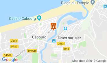 Carte Cabourg Appartement 118227