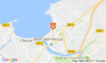 Carte Saint Jean de Luz Appartement 9340