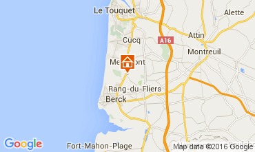 Carte Le Touquet Maison 105489