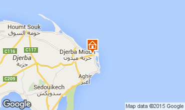 Carte Djerba Appartement 84191